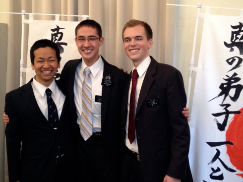 Elders Nakatsuka, Hutchings, and Day