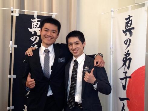 Elders Matsumoto and Furukawa