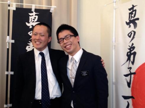 Elders Furukawa and Mizuguchi