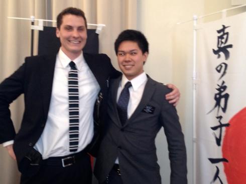 Elders Wilde and Hoshino