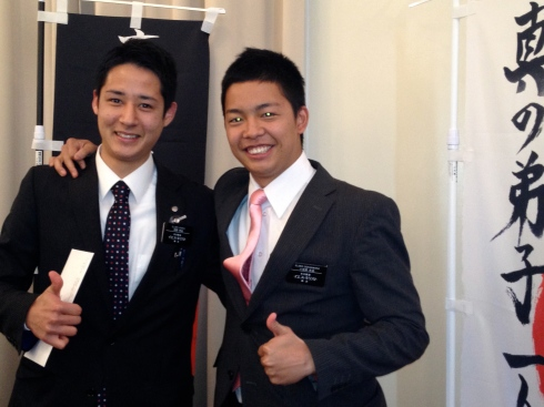 Elders Maeno and Ogasawara