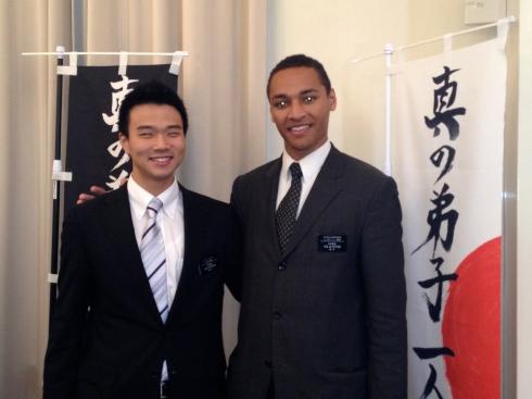 Elders Yamazaki and Henderson