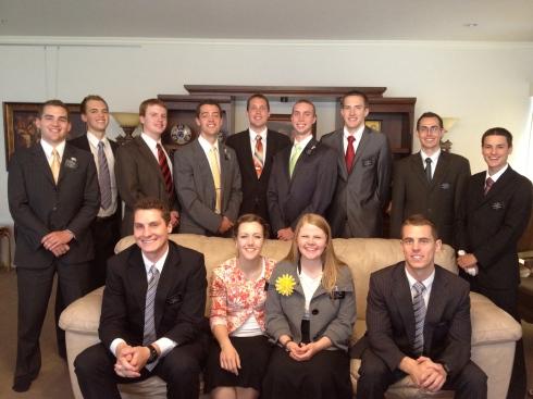 June Returning Missionaries