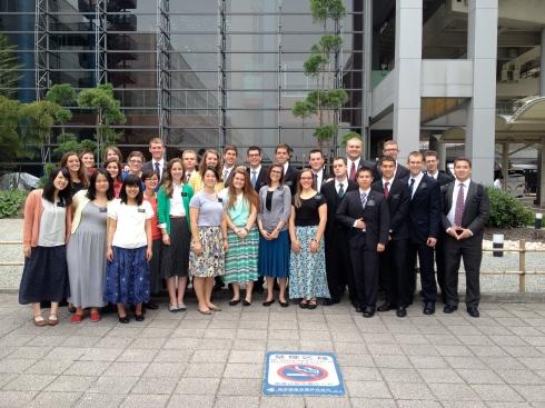 June Arriving Missionaries