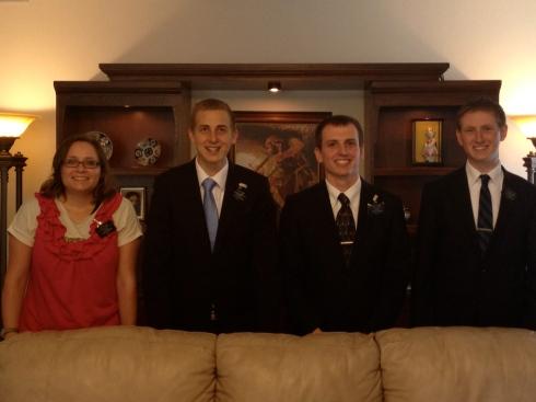 October Returning Missionaries