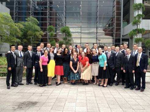 October Arriving Missionaries