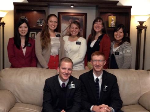 November Returning Missionaries